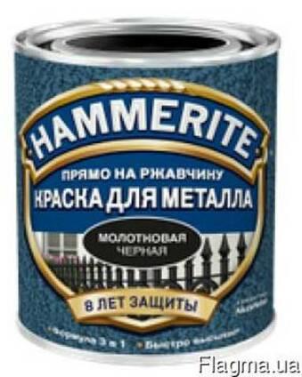 Эмаль 3 в 1 молотковая 2,5л Hammerite