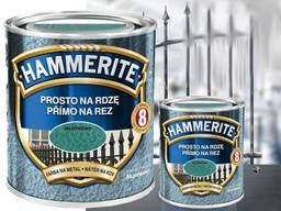 Эмаль 3 в 1 молотковая серая 2, 5л Hammerite