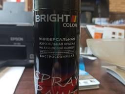 Эмаль аэрозольная акриловая Bright