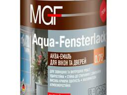 Эмаль для окон и дверей MGF Aqua-Fensterlack 0,75 л