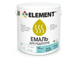 """Эмаль для радиаторов акриловая """"Element"""" 2. 5 л"""