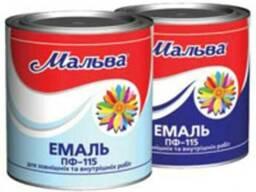 Эмаль ПФ-115 Farbex, Delfi, Зебра, Мальва