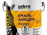 """Эмаль ПФ-116 """"Зебра"""" 2,8 кг - фото 1"""