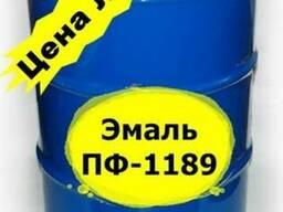 Эмаль ПФ-1189 50 кг антикоррозионная, бысторсохнущая