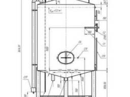 Емкость 316 сталь 7м3 из нержавеющей стали