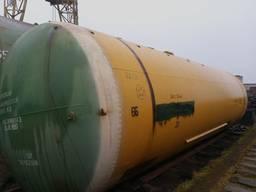 ЖД цистерна 73 м³, емкость металлическая, бочка, резервуар, котел Доставка