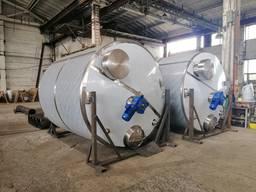 Емкость для молочных продуктов из нержавеющей стали 15м3