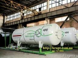 Емкость для сжиженного газа надземная