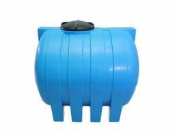 Емкость для воды горизонтальная круглая G - 1500