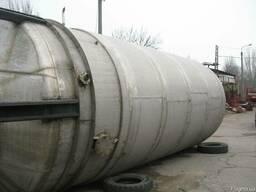 Емкость из нержавеющей стали- 50м3. с рубашкой и мешалкой.