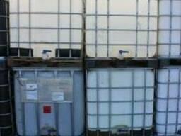 Емкость кубовая, белая/чорная, 1 м3(Еврокуб),