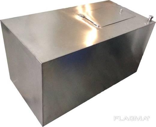 Емкость квадратная металлическая новая и б/у