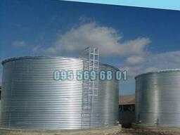 Емкость на 100 кубов для воды, КАС, патоки, резервуар 100 - фото 1