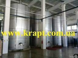 Емкость вертикальная 25 м3 с мешалкой и теплоизоляцией.