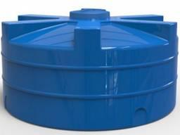 Емкость пластиковая вертикальная для воды 1000л низкая