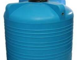 Емкость вертикальная на 3000 литров, пищевая бочка пластиков