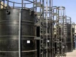 Емкости для хранения химических соединений, в т. ч. и агресси