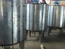 Емкости охлаждения, танки, термоса из нержавеющей стали.