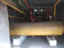 Емкости V-5 куб. м работающие под давлением до 24 bar (ресивер, воздухосборник)