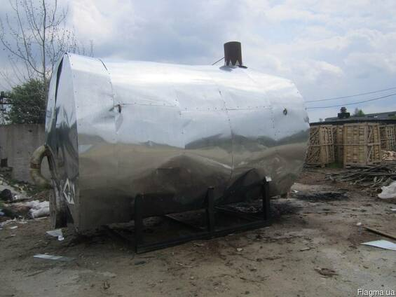 Ємності для випалювання деревного вугілля