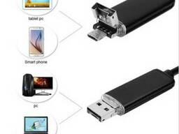 Эндоскоп 2 м 5,5 мм USB 2 в 1