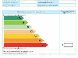 Енергетичний сертифікат будівлі