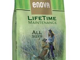 Enova lifetime maintenance корм для собак ультра премиум