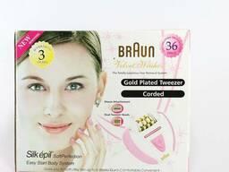 Эпилятор 2в1 Braun 5079 Velvet Weahon (Браун)