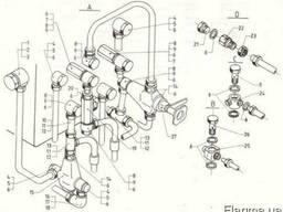 ЕВ 717. Гидравлическая система.Распределительная система.