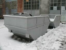 Евробак 1100 л, мусорный контейнер - фото 4