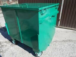 Евроконтейнер 1, 1 м3(мусорный бак, урна)