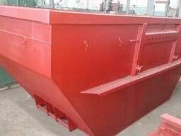 Евроконтейнер для крупногабаритного строительного мусора