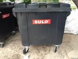 Євроконтейнер для сміття 1. 1 м³