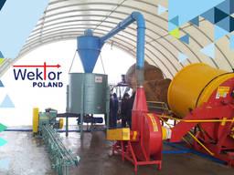 Европейское оборудование для пеллет и брикетов