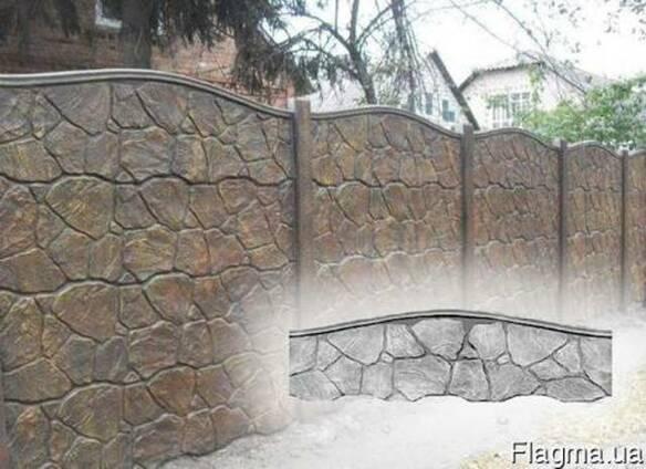 Еврозабор Луганский камень