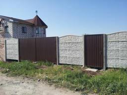 Еврозабор с воротами под ключ в Запорожье