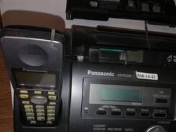 Факсимильный аппарат Panasonic KX-FC228UA) с DECT-трубкой