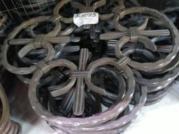 Кованые элементы из металла(барокко), распродажа дешево