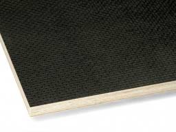 Фанера ламинированная транспортная 18х1250х2500 F/W (black) Рига A/S