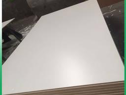 Фанера белого цвета гл/гл 12х1250х2500 мм