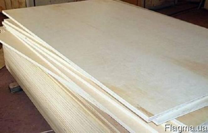 Фанера влагостойкая шлифованная ФСФ сорт СР/С 2500х1250х15мм