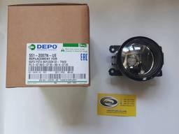 Фара противотуманная Renault - Depo