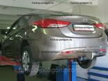 Фаркоп Hyundai Elantra с 2011 г. - фото 1