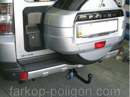 Фаркоп Mitsubishi Pajero Wagon (LWD) с 2007 г.