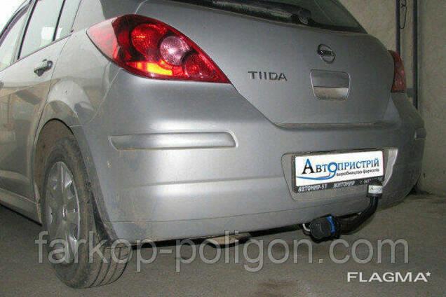 Фаркоп Nissan Tiida (C11) с 2004-2014 г.