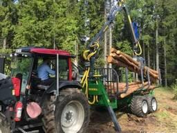 Farma T-9 Лесной траулер с манипулятором