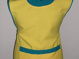 Фартук накидка для сферы обслуживания, униформа продавца
