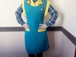Фартук - накидка, рабочая одежда для сферы обслуживания