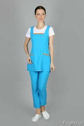 Женский рабочий костюм - удобный, практичный