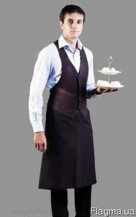 Фартук-жилет для официантов, барменов